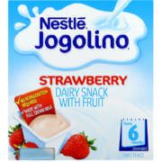Jogolino Dairy Cup With Fruit Strawberry 4x 100g