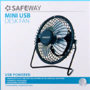 USB Mini Fan Black