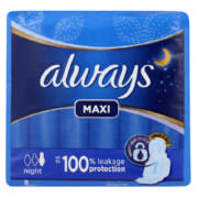 Maxi Night 8 Sanitary Pads