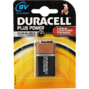 Plus Power Alkaline Battery 9V