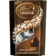 Lindor Irresistibly Smooth Extra Dark Chocolate 125g