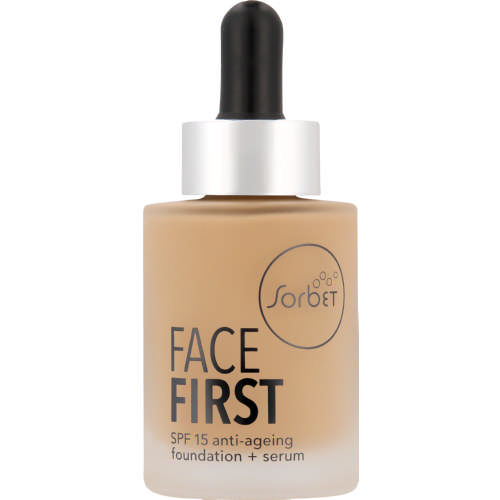 Face First SPF15 Anti-Ageing Foundation + Serum Cashew 30ml