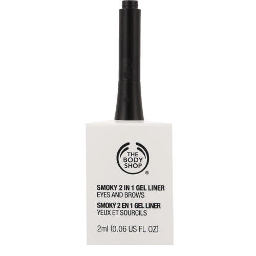 Smokey 2 In 1 Gel Eye Liner Black 2ml