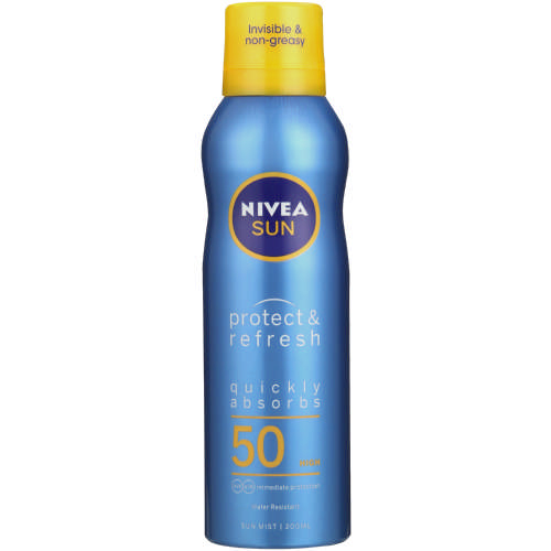 Sun SPF50 Protect & Refresh Cooling Mist 200ml