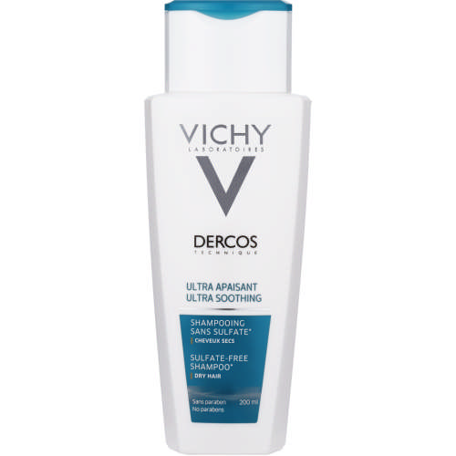 Dercos Ultra Soothing Sulphate-Free Shampoo Dry Hair 200ml