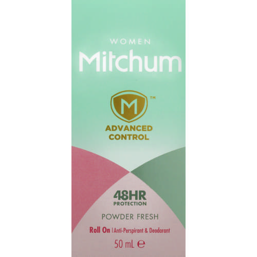 Advanced Women Anti-Perspirant & Deodorant Roll-On Powder Fresh 50ml