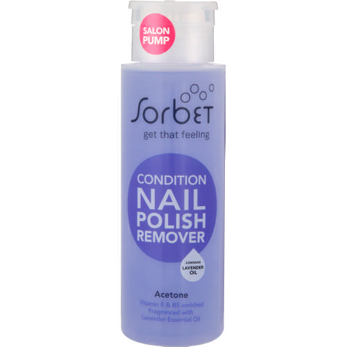 Salon Pump Condition Nail Polish Remover 250ml