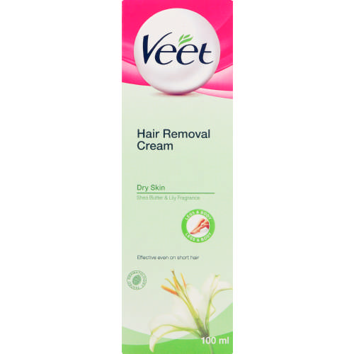 Veet Hair Removal Cream Dry Skin 100ml Clicks
