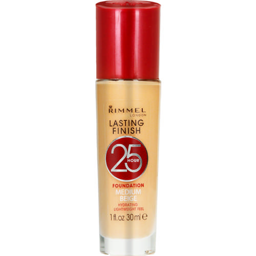 Lasting Finish 25-Hour Foundation Medium Beige 30ml