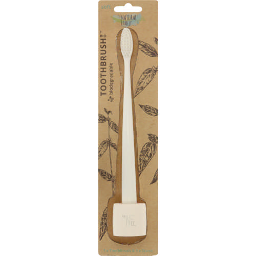 Bio Ivory Desert Toothbrush with Stand