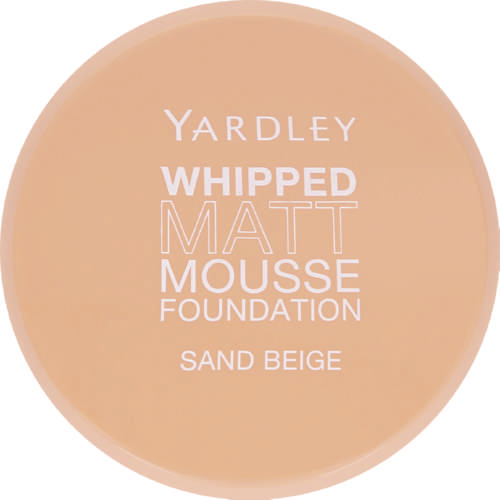 Whipped Matt Mousse Foundation Sand Beige 14g