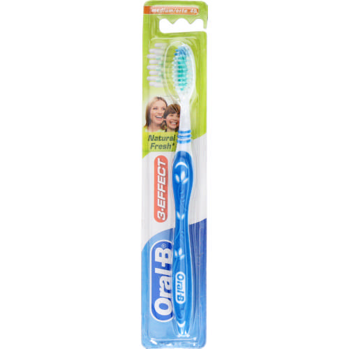 3-Effects Natural Fresh Manual Toothbrush Medium