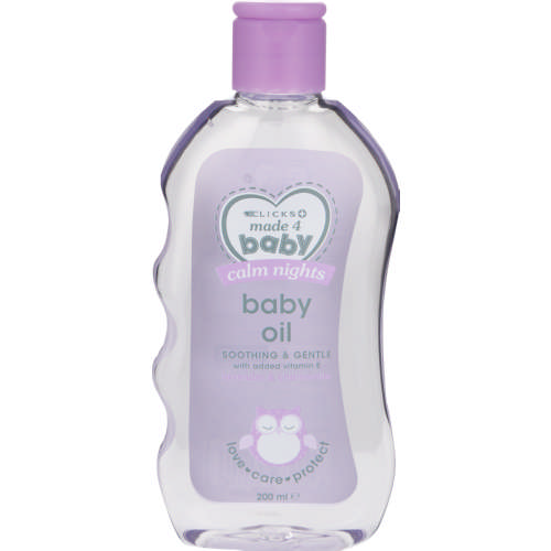 Baby Oil Lavender And Chamomile 200ml