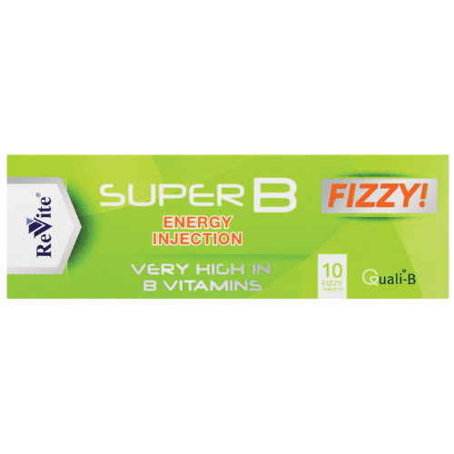 Super B Energy Injection 10 Effervescent Tablets