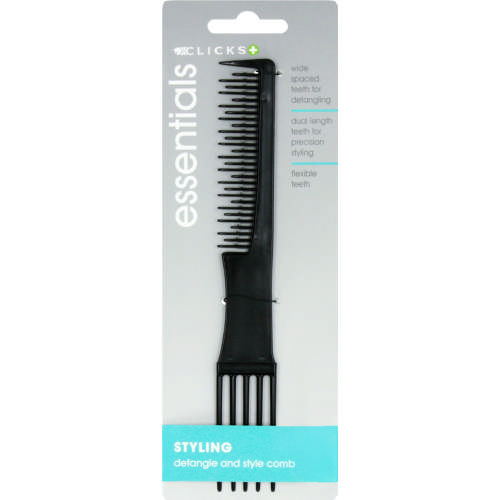 Essentials Detangle and Style Comb