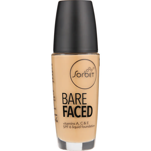 Bare Faced SPF6 Liquid Foundation Clay 30ml