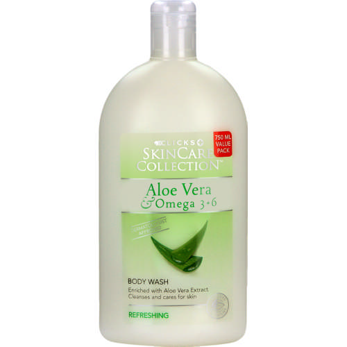 Clicks SkinCare Collection Aloe Vera & Omega 3 & 6 Body