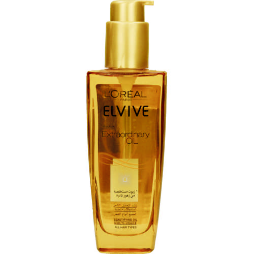 Elvive Extraordinary Oil Beautifying Oil All Hair Types 100ml
