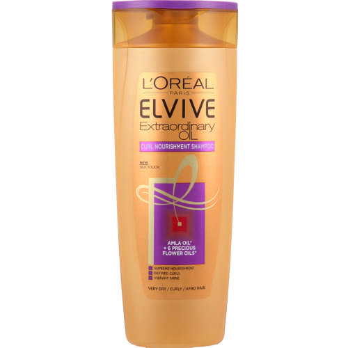 Elvive Extraordinary Oil Curl Nourishment Shampoo 400ml