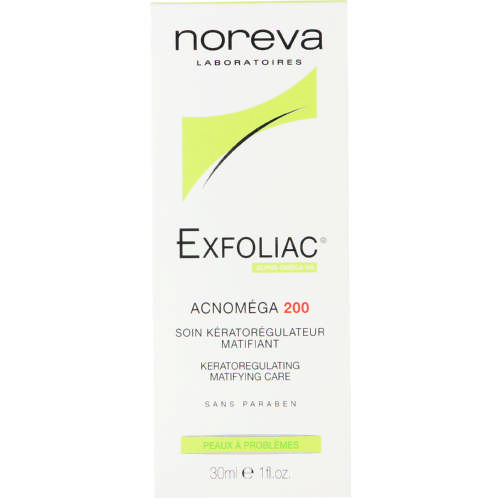 Exfoliac Acnomega 200 Matifying Care 30ml