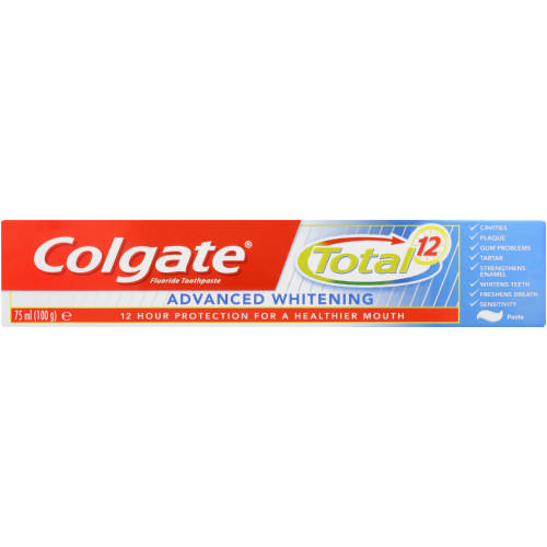 Total 12 Toothpaste Advanced Whitening 75ml