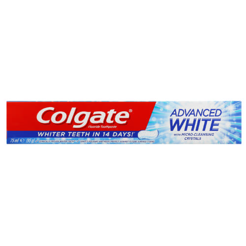 Advanced White Fluoride Toothpaste 75ml