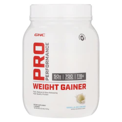 Gnc Pro Performance Weight Gainer Vanilla Clicks