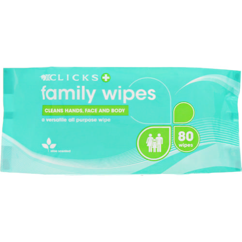 Adult Wet Wipes 80 Wipes