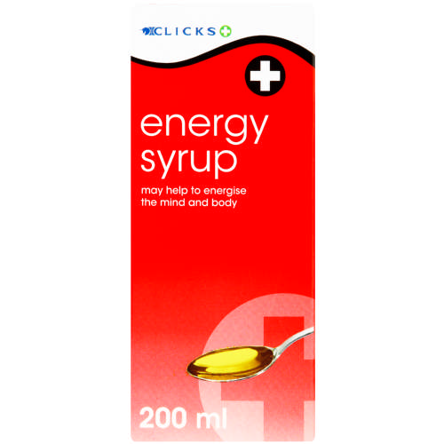 Energy Syrup 200ml