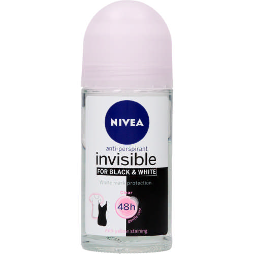 Invisible Anti-Perspirant Roll-On Clear 50ml