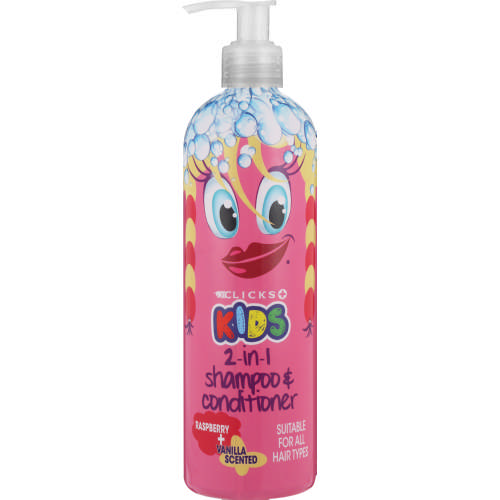 Kids 2in1 Shampoo Raspberry Vanilla 400ml