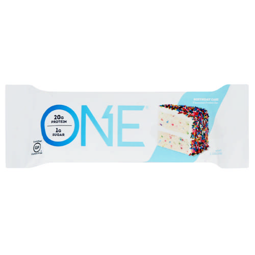 One Bar Protein Birthday Cake 60g Test
