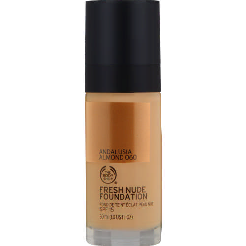 The Body Shop Fresh Nude Foundation 060 Andalusia Almond