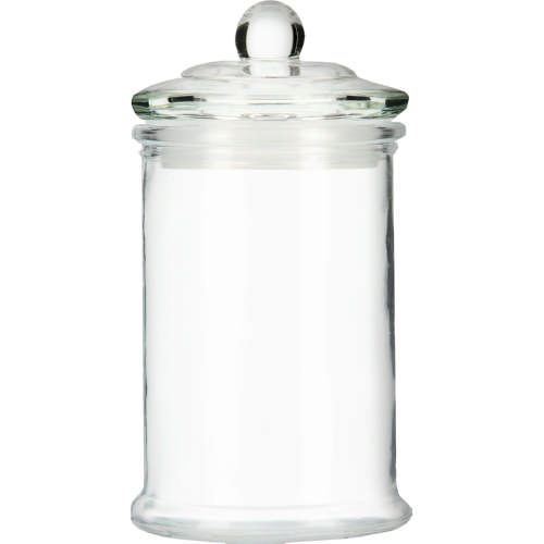 Glass Bathroom Storage Jar Medium