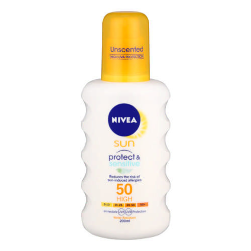 Sun SPF50 Protect & Sensitive Spray 200ml