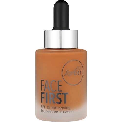 Face First SPF15 Anti-Ageing Foundation + Serum Sandalwood 30ml