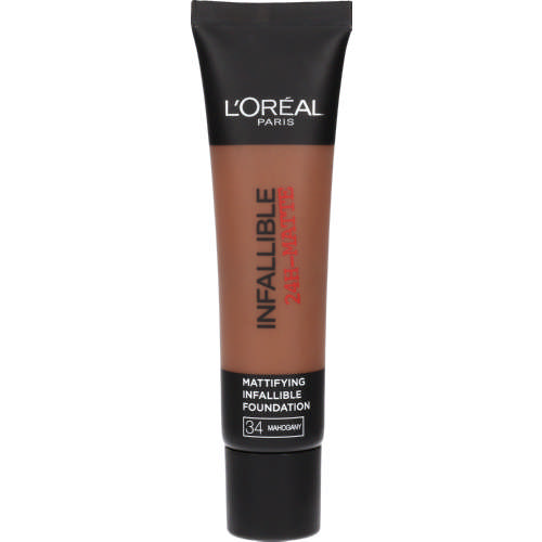 Infallible 24H Matte Foundation Amber