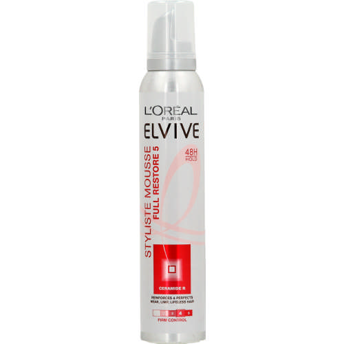 Elvive Styliste Mousse Firm Control 200ml