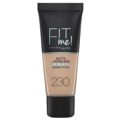Fit Me Matte + Poreless Foundation Natural Buff 30ml