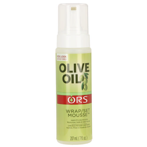 Ors Olive Oil Wrap Set Mousse 207ml Clicks