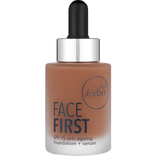 Face First SPF15 Anti-Ageing Foundation + Serum Walnut 30ml