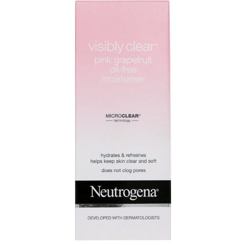 Visibly Clear Pink Grapefruit Oil-Free Moisturiser 50ml