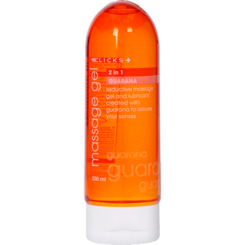 2-in-1 Massage Gel Guarana 200ml