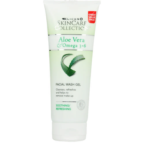 Clicks Skincare Collection Aloe Vera & Omega 3+6 Facial