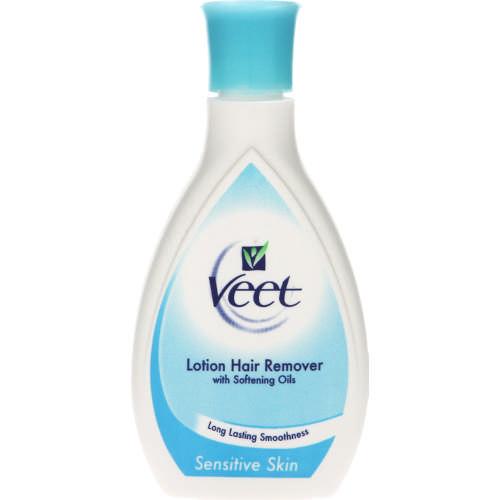Veet Hair Removal Lotion Sensitive Skin 125ml Clicks