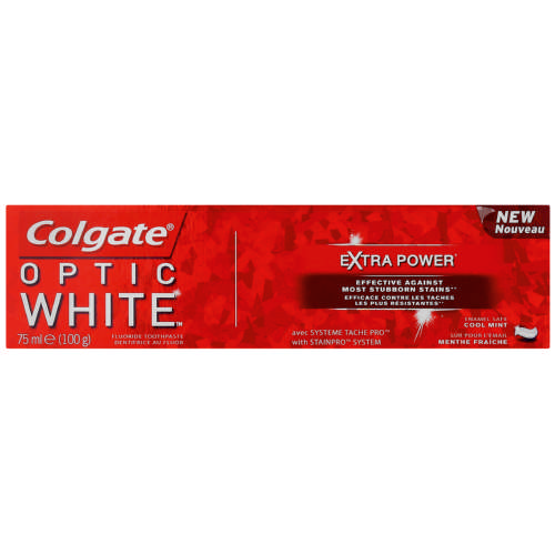 Optic White Extra Power Paste 75g