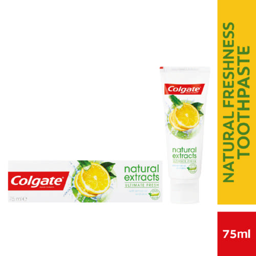 Natural Extract Toothpaste Lemon 75ml