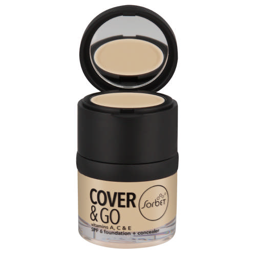 Cover & Go SPF6 Foundation & Concealer Buff 25ml + 1.2gr