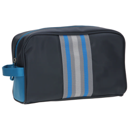 0187951299fd Clicks Mens Navy   Turquoise Toiletry Bag Large - Clicks