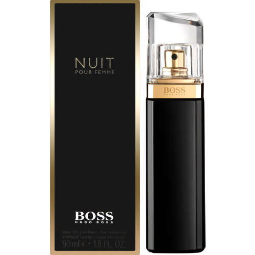 hugo boss nuit pour femme eau de parfum for women natural spray 50ml clicks. Black Bedroom Furniture Sets. Home Design Ideas